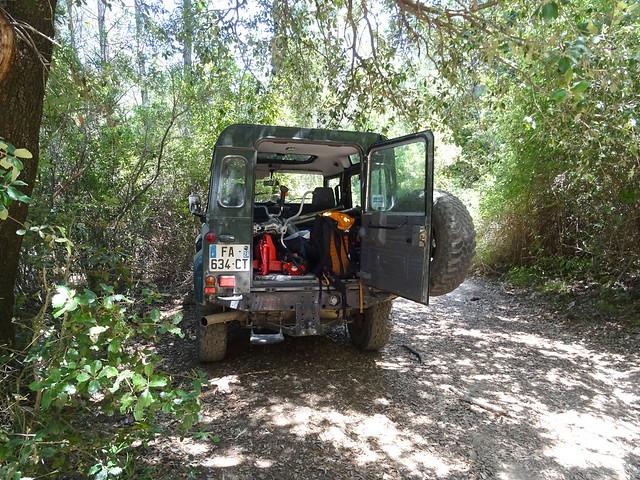 Retour depuis le parking de la Sainte-Lucie