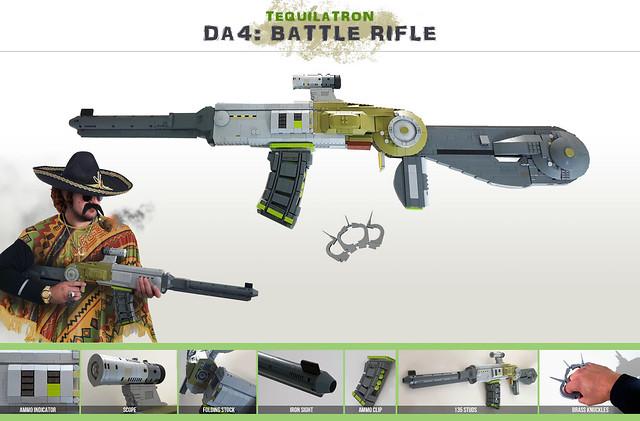 Tequilatron - DA4 - Battle Rifle
