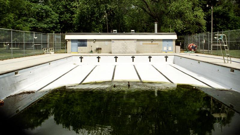 Drained Wedgewood Pool