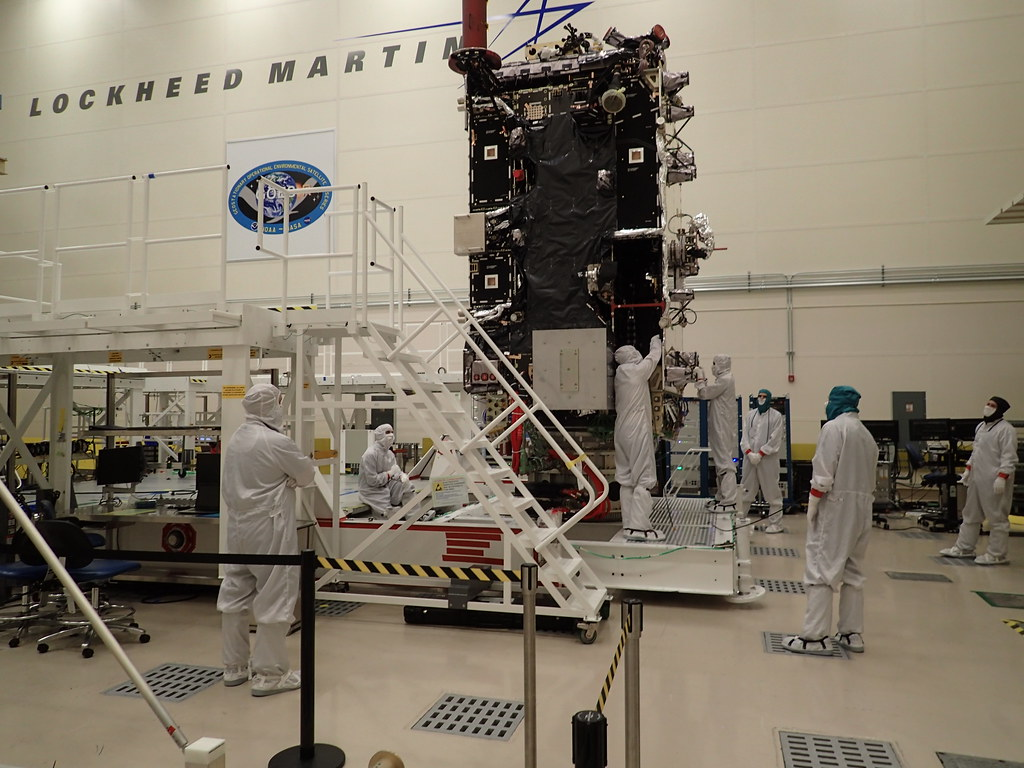 GOES-T in the Clean Room