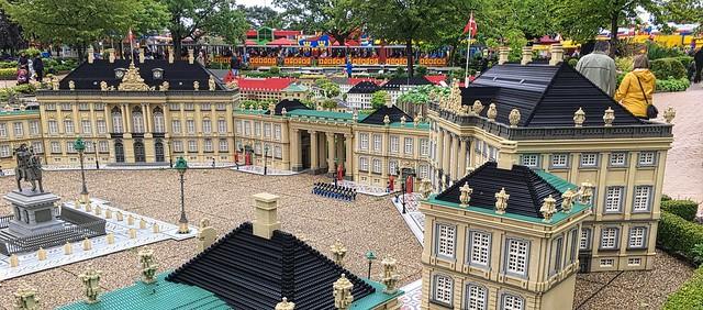 Amalienborg palace at Legoland Billund Resort