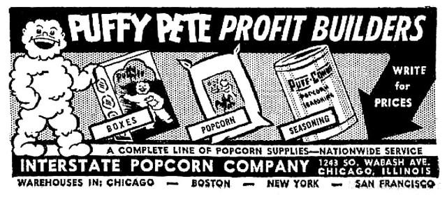 1947 interstate popcorn puffy pete