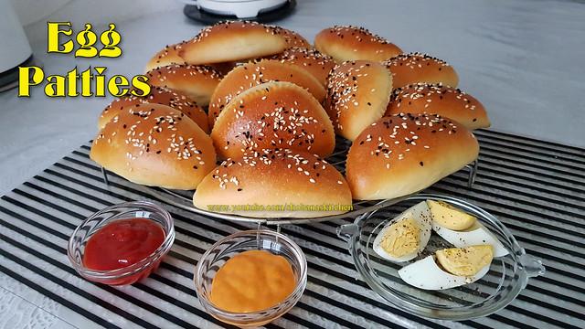 Sri Lankan Egg Patties Recipe / முட்டை பற்றீஸ் / Oil Free Egg Patties / Shobanas Kitchen