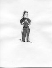 Portrait d'une poétesse
