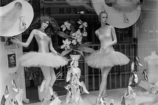 Dance shop, Charing Cross Rd, Soho, 1987 787-2k-41-positive_2400