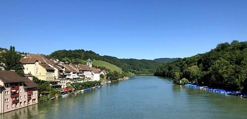 eglisau cantonofzurich switzerland rhine rhein river riverscenery iphone peterch51