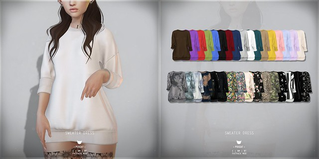SweaterDress - FaMESHed