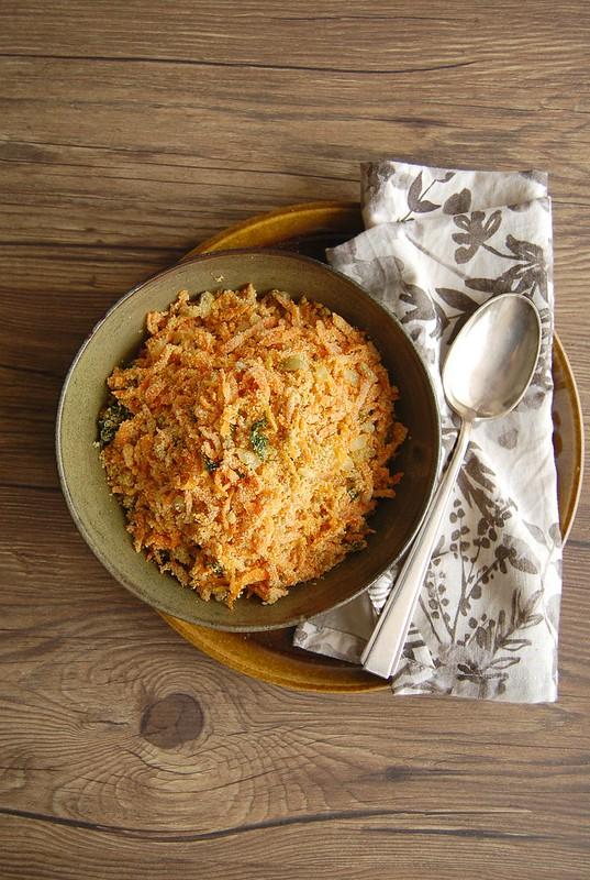 Farofa de cenoura / Carrot farofa
