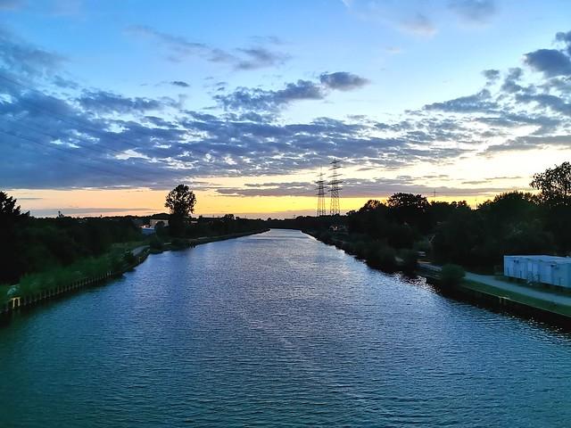Sunset Rhein-Herne-Kanal