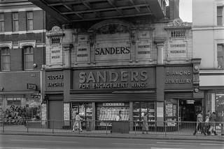 Sanders, Jeweller, Brixton Rd, Brixton, Lambeth, 1987 87-2o-44-positive_2400