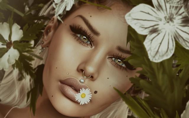 .flower child.