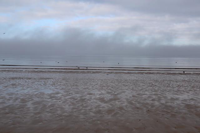 The beach at Burghead