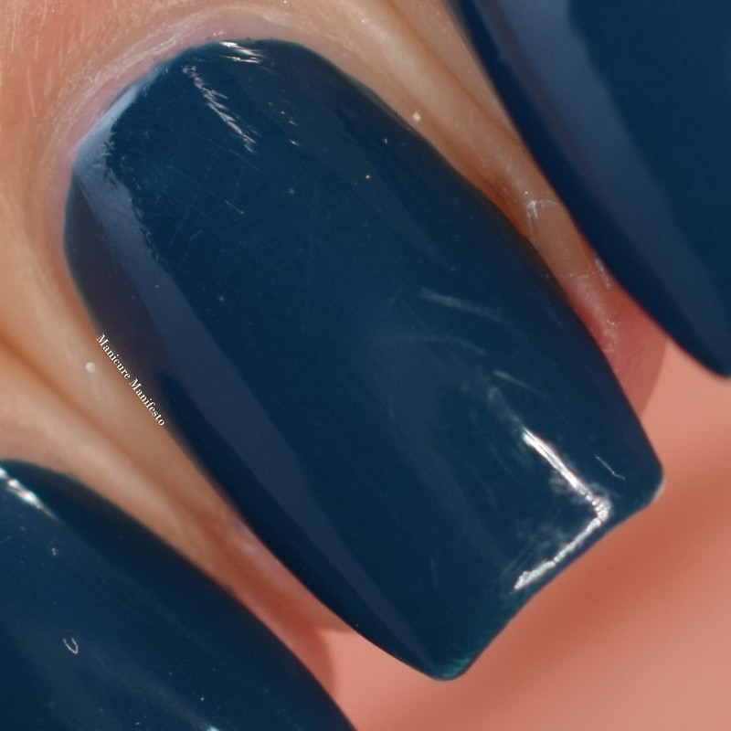 OPI Ski Teal We Drop review