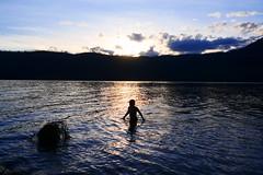 Glacier National Park - Sundown Swim
