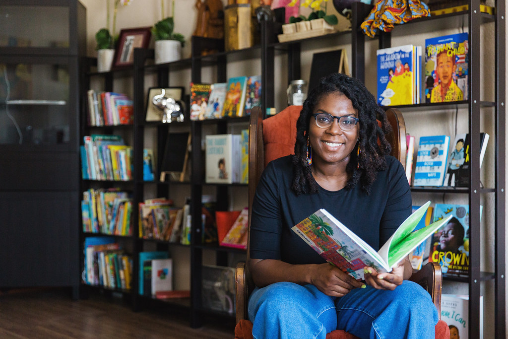 Cultured Books owner, Lorielle J. Hollaway