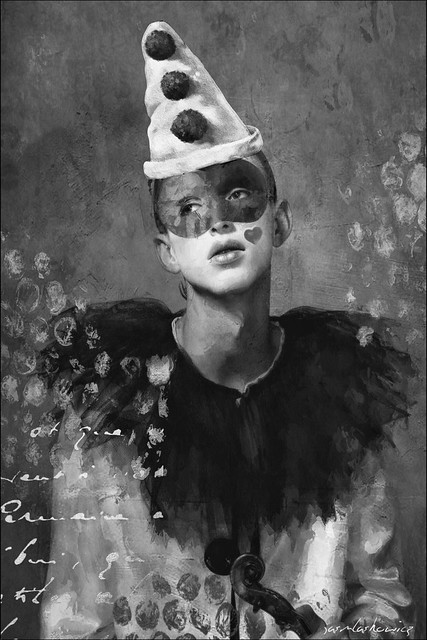 Portrait of a Clown  EXPLORED