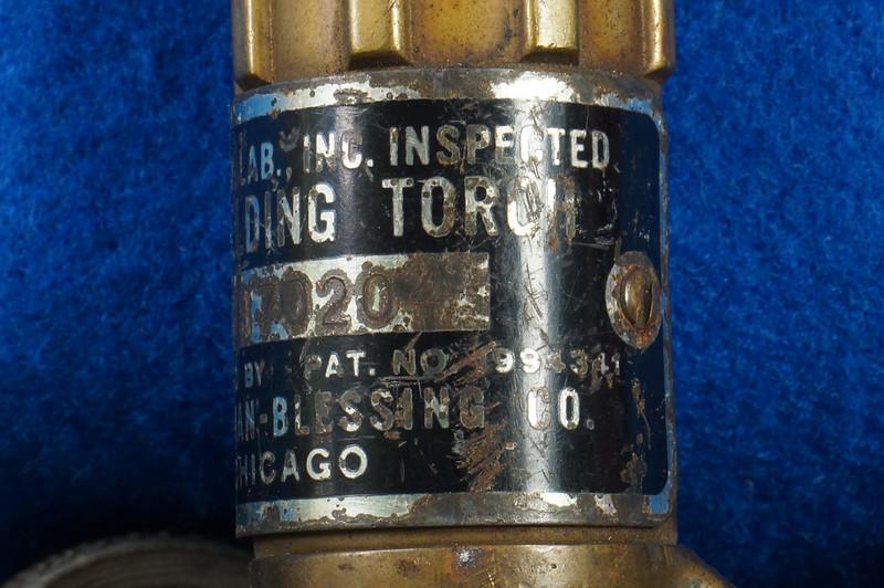 RD20912 Vintage Rego GV Welding Torch Bastian Blessing 10586 DSC08593