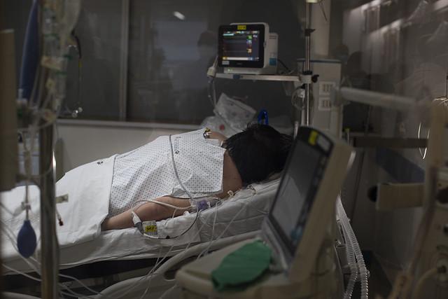 Antes del último respiro: crónicas médicas de una pandemia.
