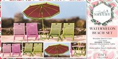 Simply Shelby Watermelon Beach Set