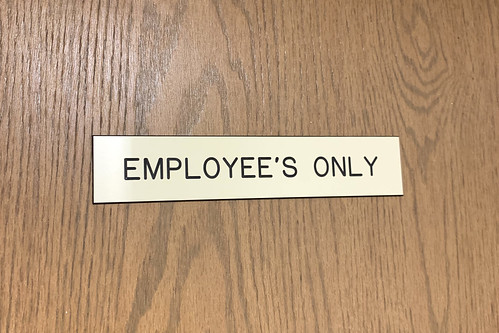 Employee's Only