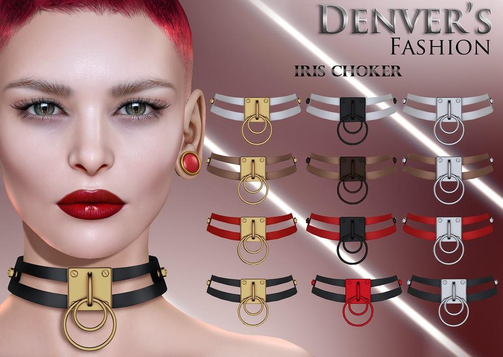 Denver's Iris Choker