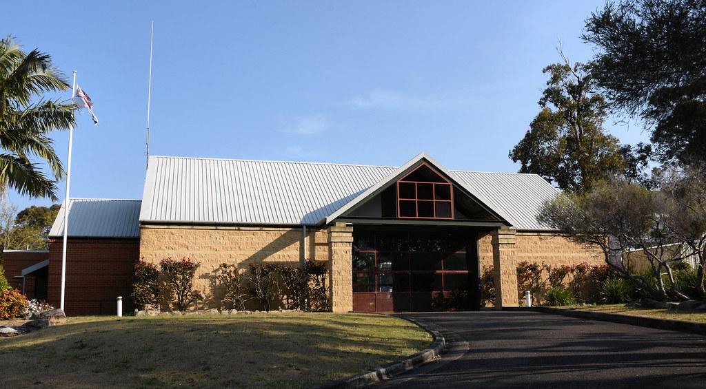 Ambulance Station, Menai, Sydney, NSW.