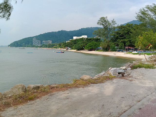 Beach at Teluk Bahang