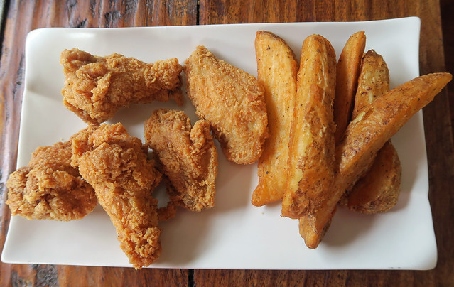 Wings and Fries - Krispy Krunchy Chicken