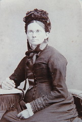 Jane Rowe, nee Jackson (1840-1896). Wife of John Henry Rowe. From Ruth Baxendale