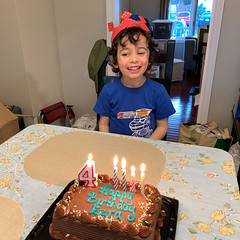 Ezra's 4th Birthday