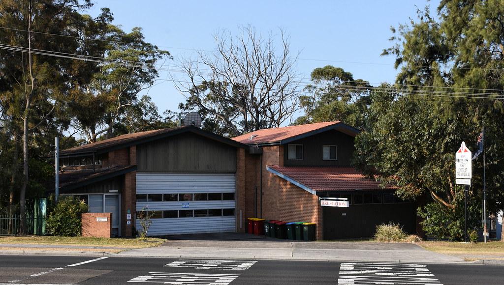 Fire Station, Menai, Sydney, NSW.