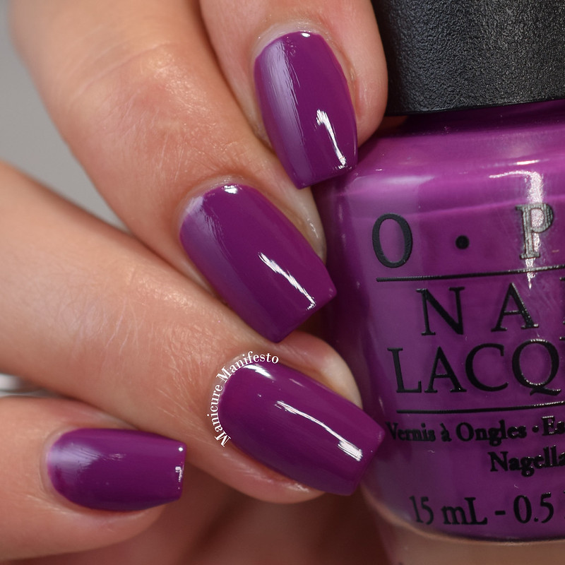 OPI Pamplona Purple review