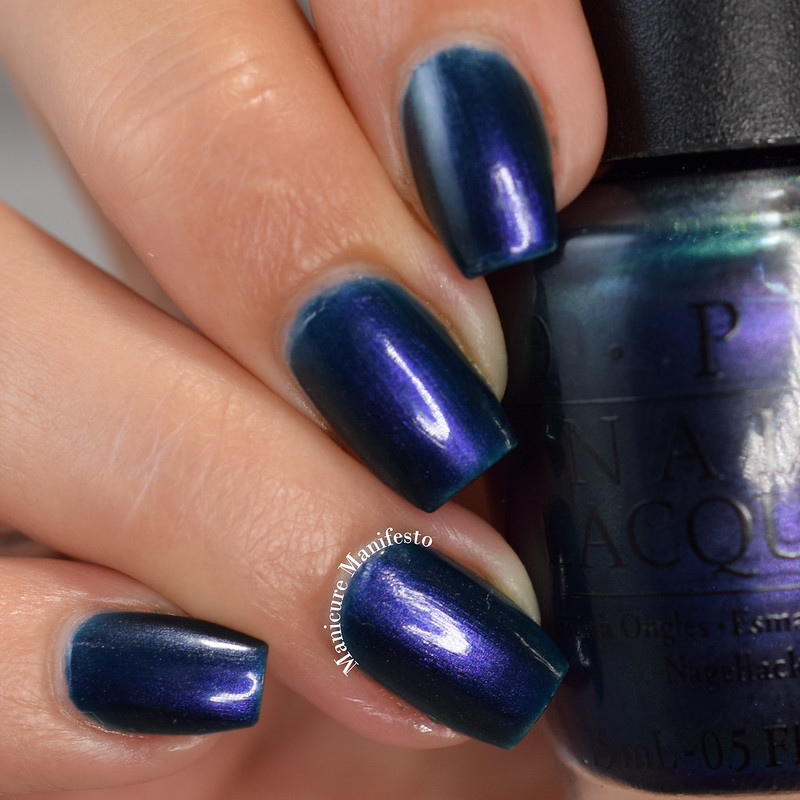 OPI Glacier Bay Blues review
