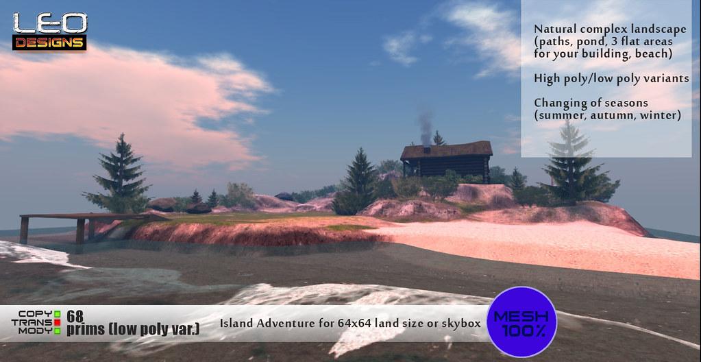 "Island ""Adventure"": Leo Designs store (Second Life)"