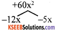 KSEEB Solutions for Class 8 Maths Chapter 4 Factorisation Additional Questions 9