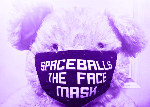 Spaceballs the face mask