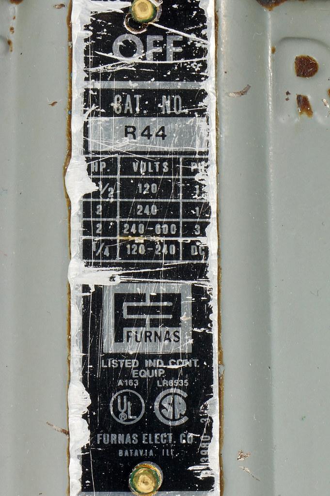 RD30573 Vintage Furnas Forward Reverse Controller Switch R-44 Logan Metal Lathe DSC08622