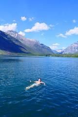 Glacier National Park - Brettie Swims