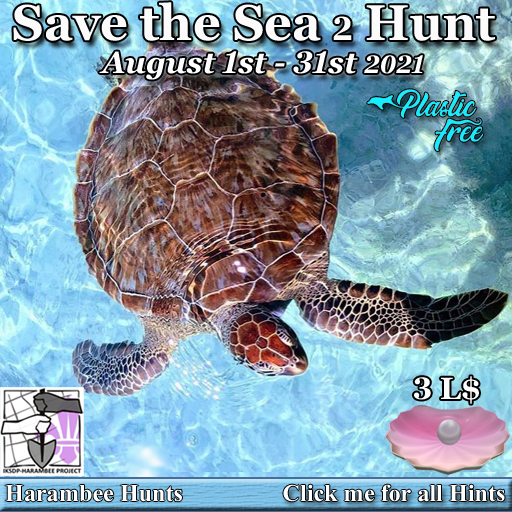 Save the Sea 2 Hunt - August 1st/31st