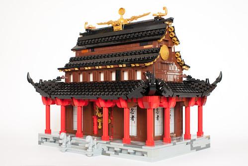 Last Monk - temple