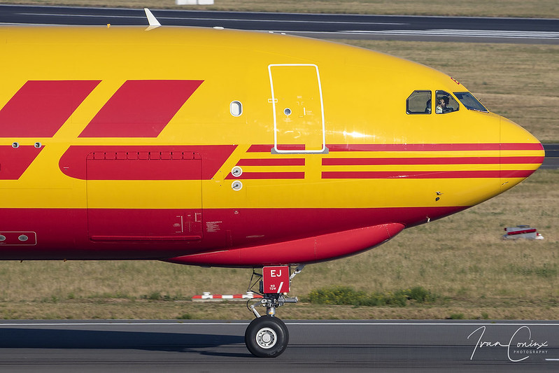 Airbus A330-243F – DHL (European Air Transport – EAT) – D-ALEJ – Brussels Airport (BRU EBBR) – 2020 06 12 – Takeoff RWY 01 – 02 – Copyright © 2020 Ivan Coninx