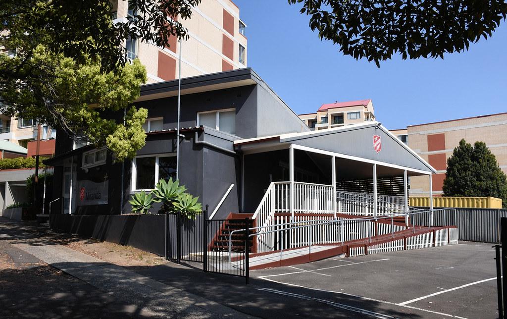 Salvation Army, Miranda, Sydney, NSW.