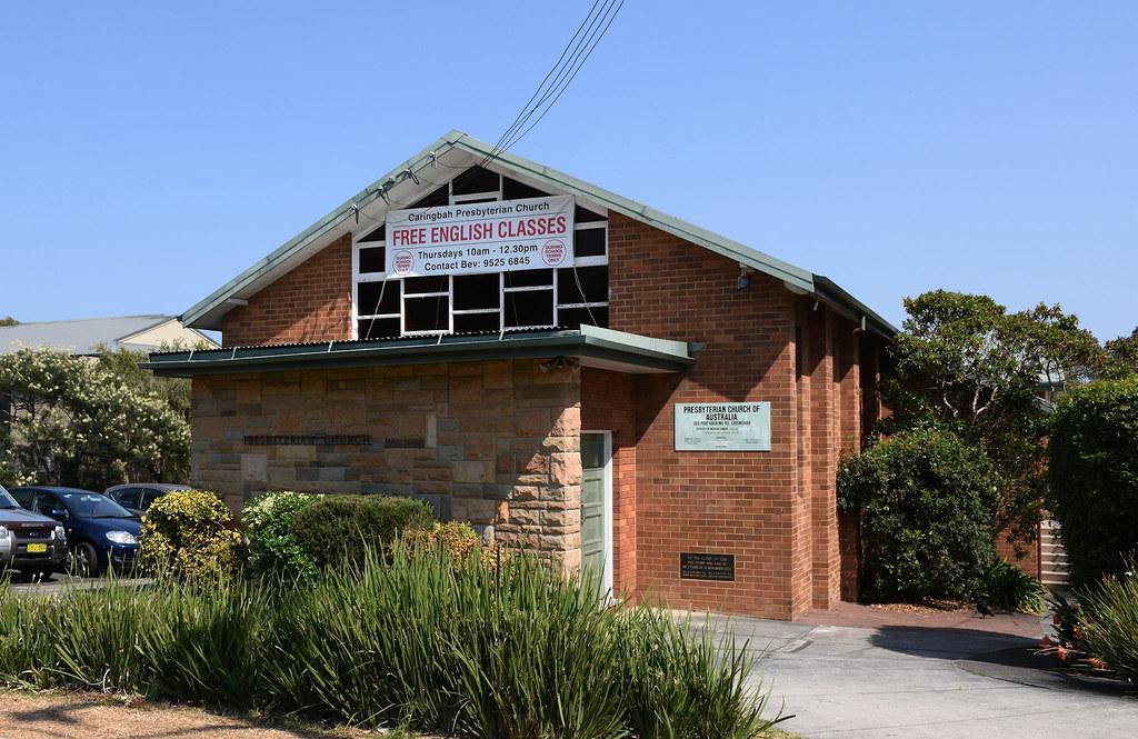 Prebyterian Church, Caringbah, Sydney, NSW.