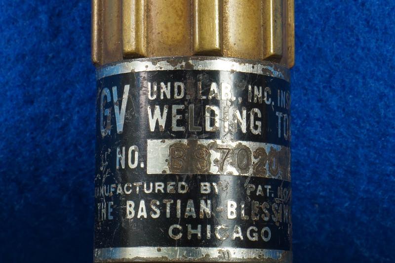 RD20912 Vintage Rego GV Welding Torch Bastian Blessing 10586 DSC08592