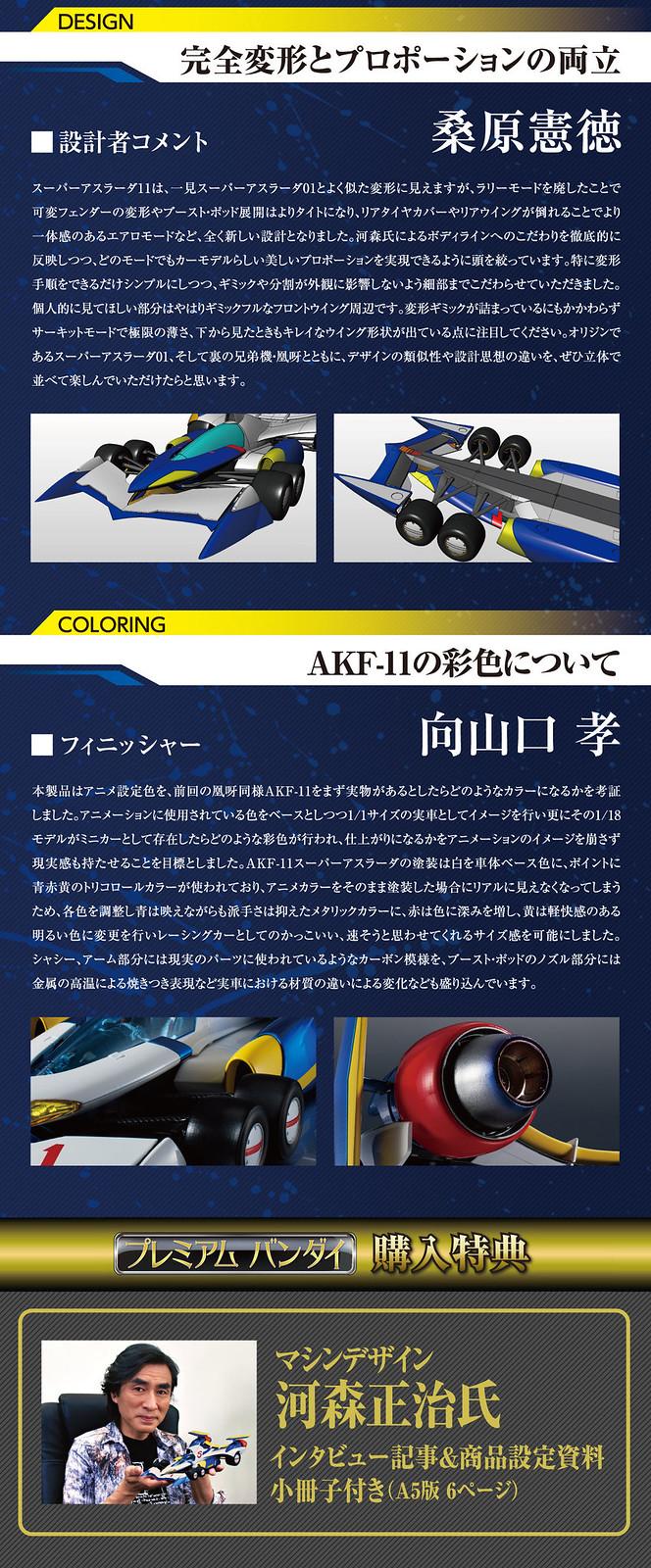 實現完全變形機構 Variable Action Hi-SPEC《閃電霹靂車11》超級阿斯拉AKF-11(スーパーアスラーダ AKF-11)