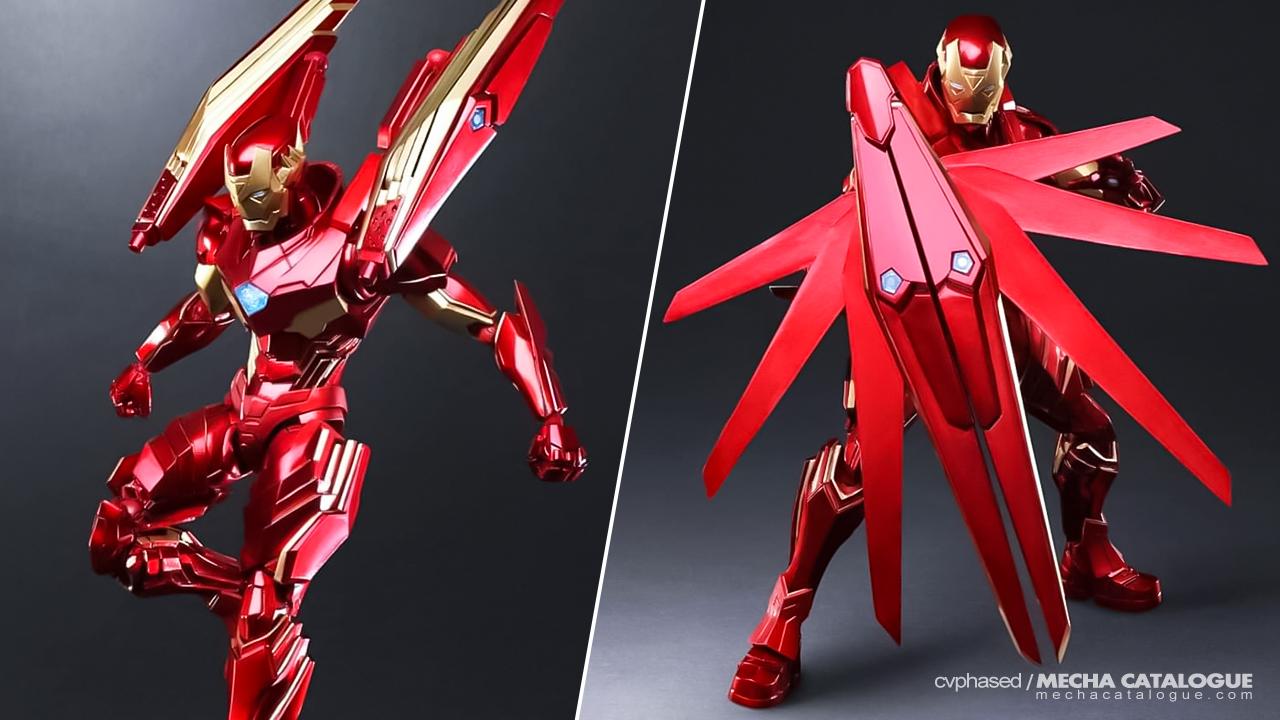 Detailed Look: Marvel Universe Variant Bring Arts IRON MAN
