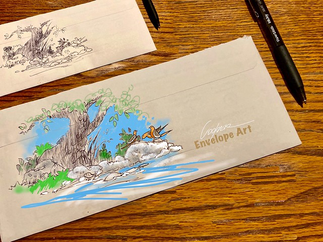 ENVELOPE ART 3