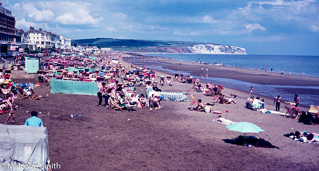 Sandown Beach Summer 1971