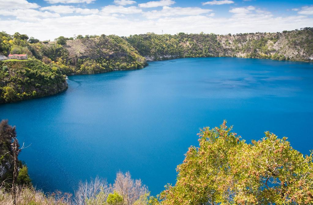 Blue Lake Mt Gambier   Blue Lake Mt Gambier South Australia   Laurie    Flickr