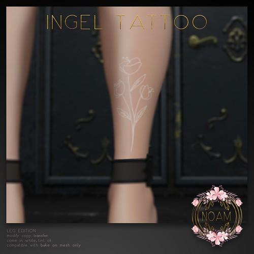 NOAM // ingel tattoo (hunt edition) for T2020UH
